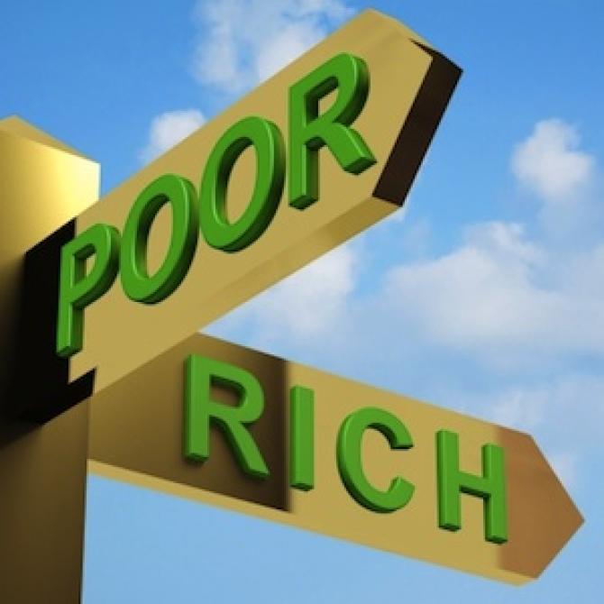 sarac vs bogat